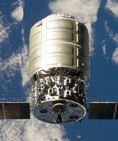 Orbital plans to hitch its Cygnus cargo capsule to ULA's Atlas V rocket for an ISS resupply mission in December.