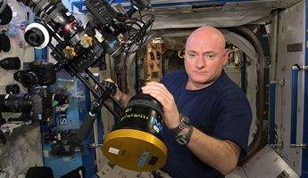Scott Kelly of NASA