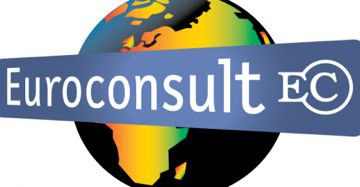 Euroconsult logo for space exploration