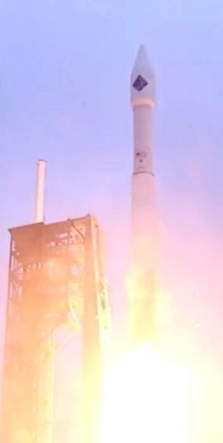 OA-4 Cygnus spacecraft lifts off