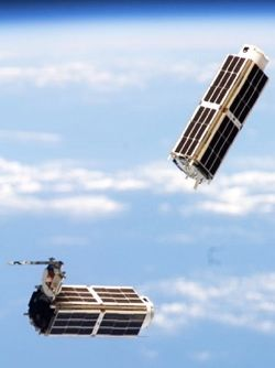microsatellites in orbit