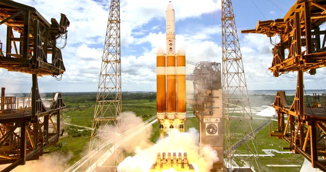 ula spy satellite launched
