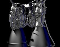 Aerojet rocket engine aces tests