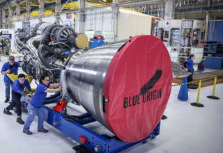 Blue Origin rocket engine BE-4