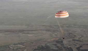 ISS duo back safely