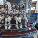 Trio en route to ISS