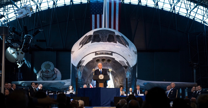 Vice president space conference