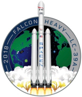 SpaceX mission logo